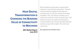 How Digital Transformation is Changing the Business Value of Connectivity to Machines