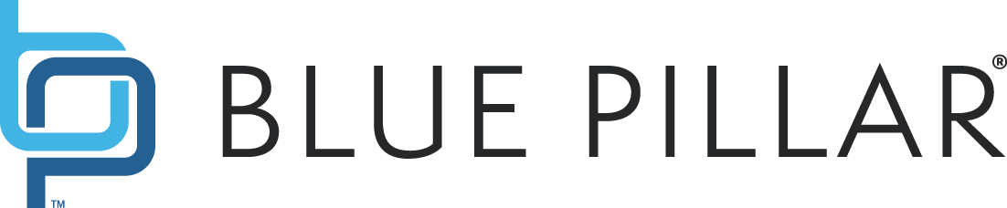 Blue Pillar Logo